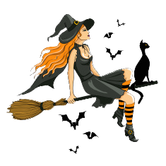 sexy witch with a black cat #malaodskandala #scandalicious