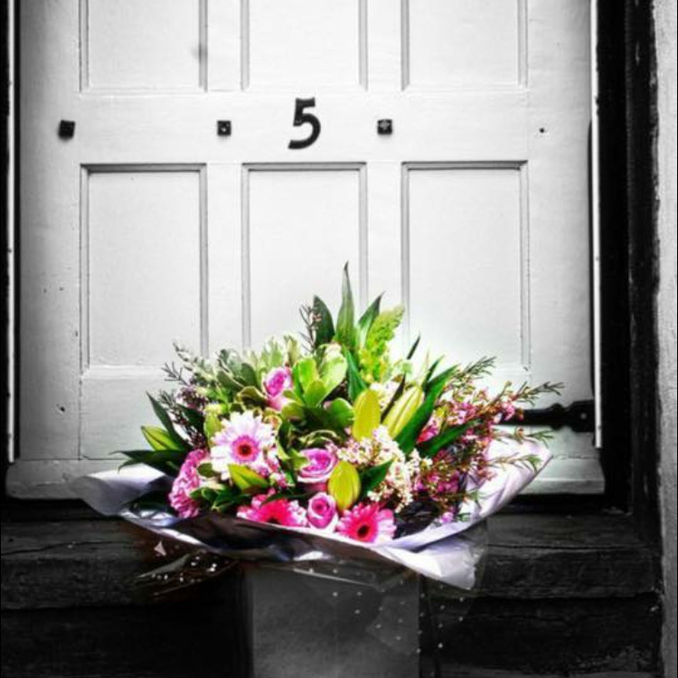 flowers-on-doorstep